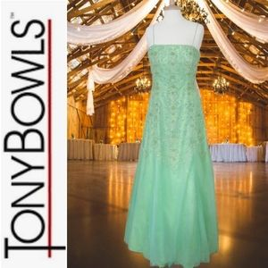 Tony Bowls Mesmerizing Prom/Pageant Sparkle Gown